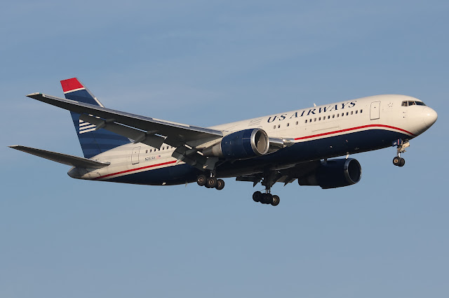 US Airways Boeing 767-200ER Extended Range