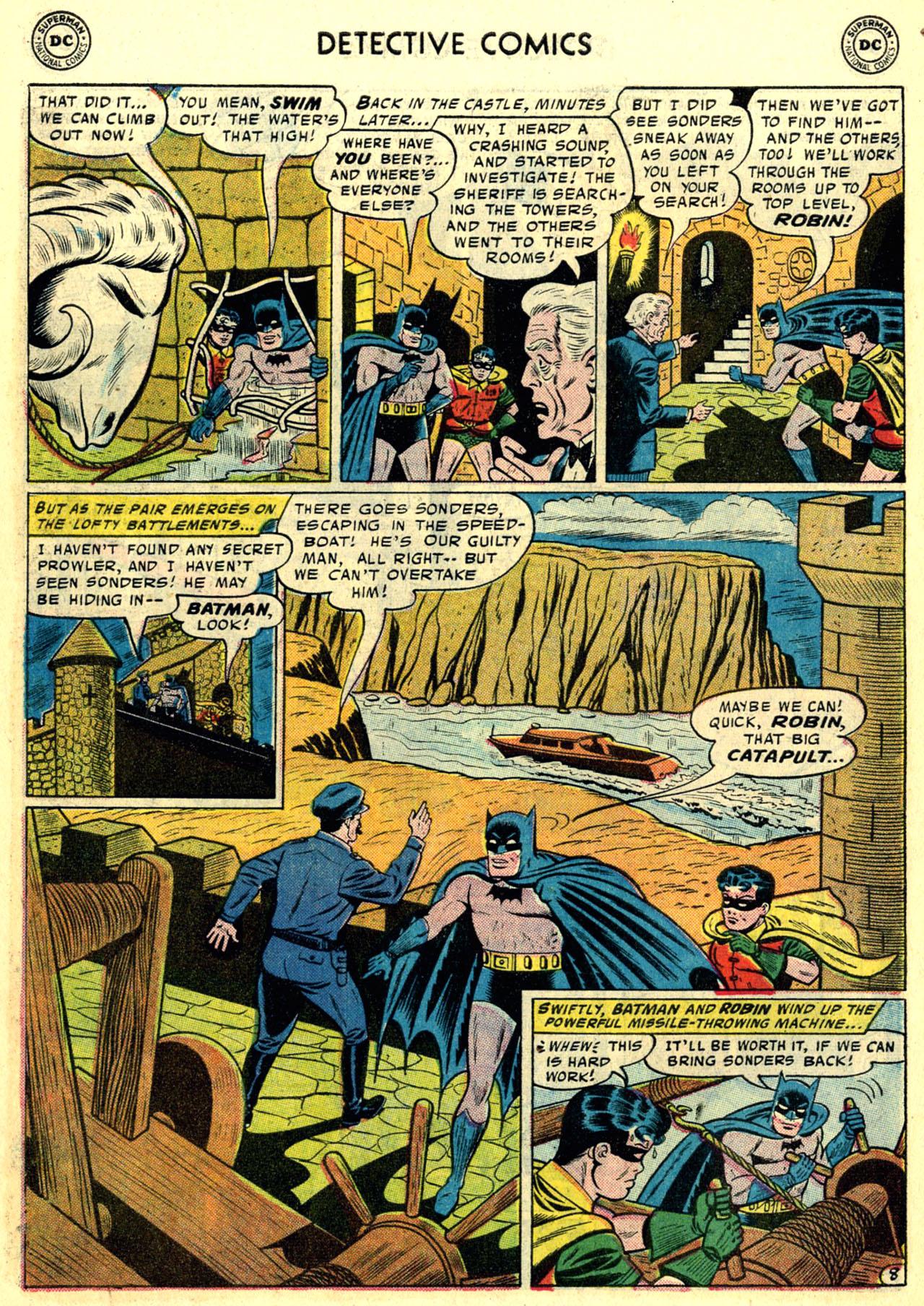Read online Detective Comics (1937) comic -  Issue #246 - 10