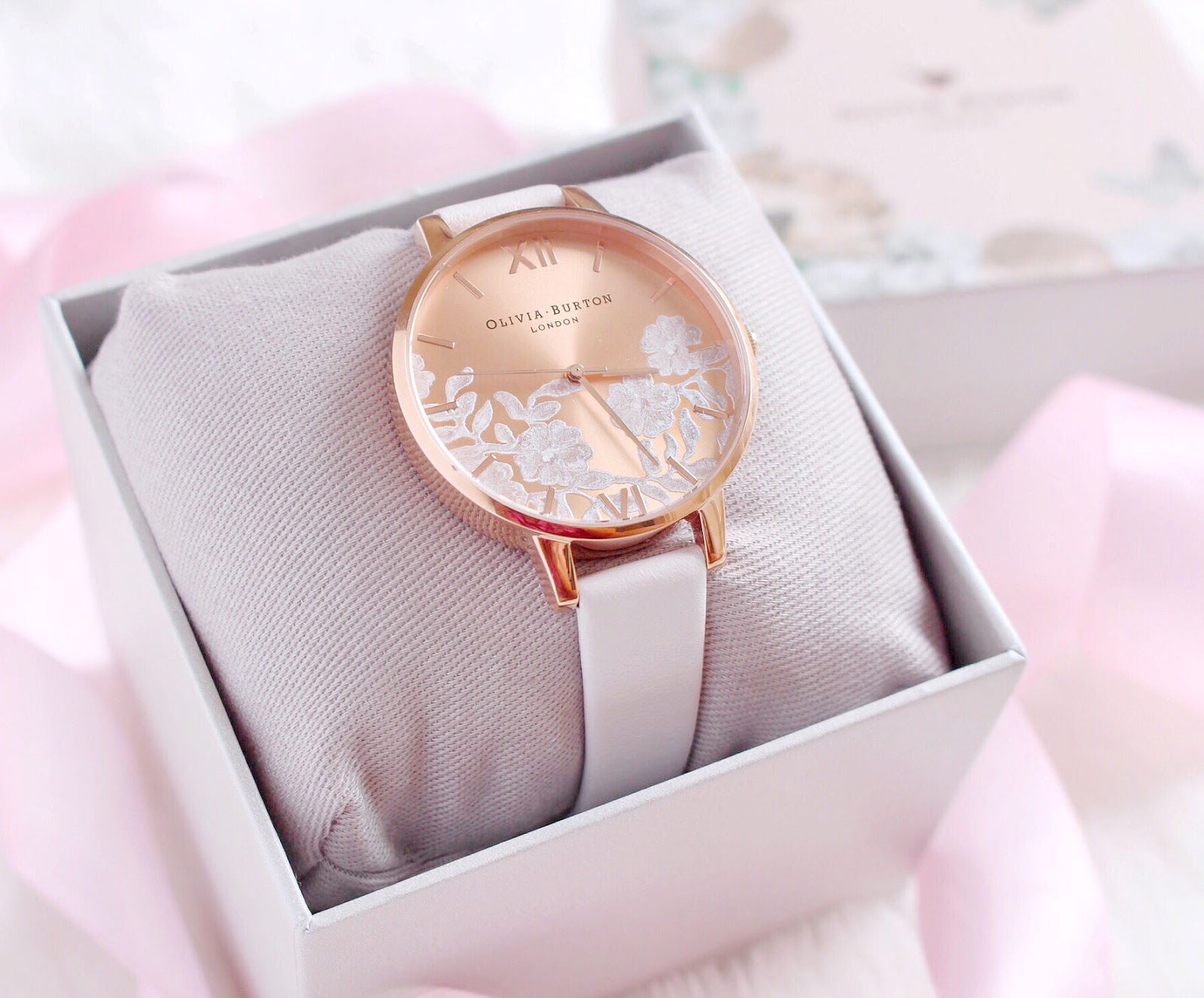 Olivia Burton Lace Detail Watch | Love, Catherine