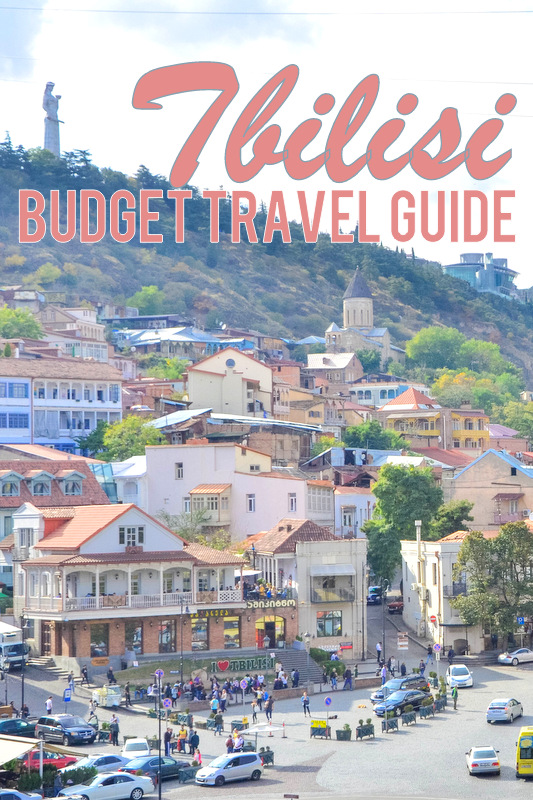 Tbilisi Travel Guide for pinterest