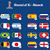 Adidas lidera o fornecimento de uniformes nas oitavas de final da Copa do Mundo 2018