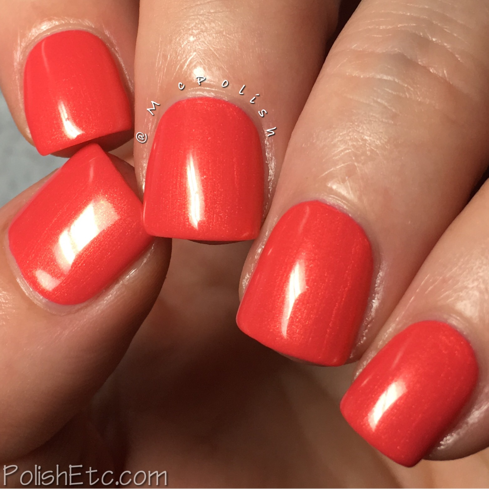 Native War Paints - Copper Beach Trio - McPolish - Copper Sunset