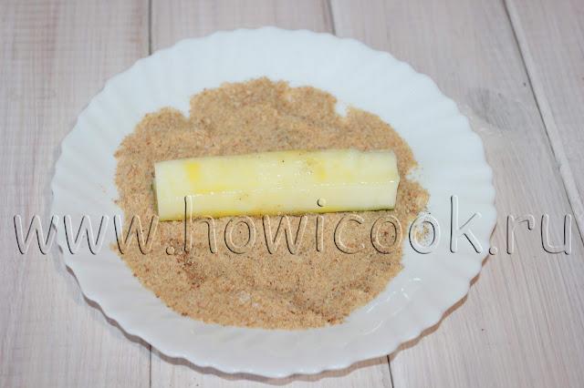 рецепт кабачковых палочек в хрустящей панировке