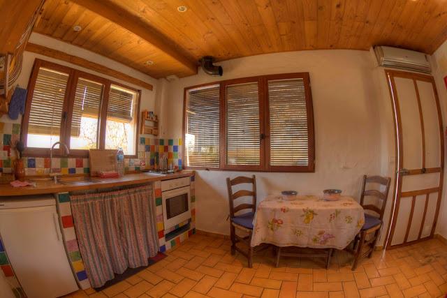 Cocina casa mediterranea