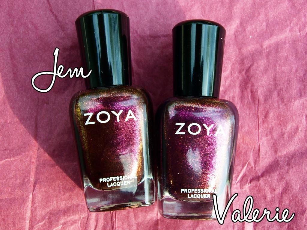 Zoya Valerie Vs Jem See, Shop, Love!: Zoya...