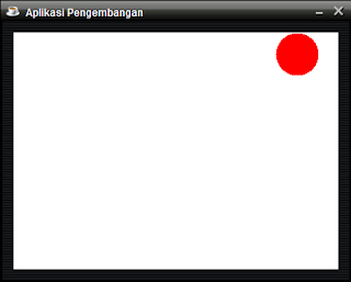 Membuat Bola Memantul dengan Java Netbeans - Aplikasi Grafik