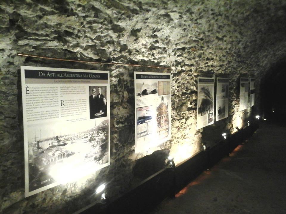 Illuminazione per mostra fotografica quando napoli era una città