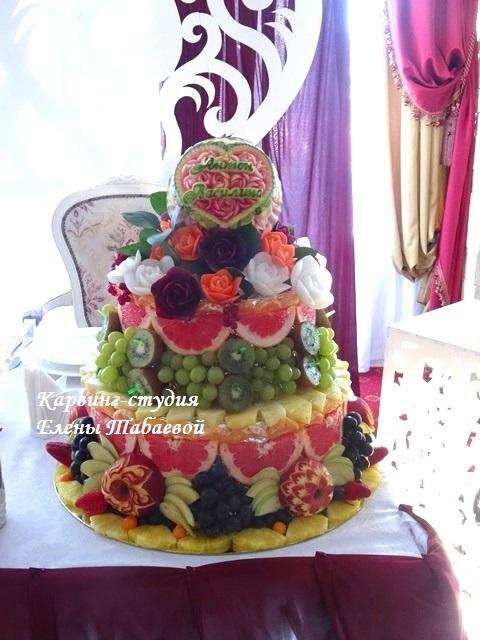 фруктовая горка свадебный фуршет южно-сахалинск