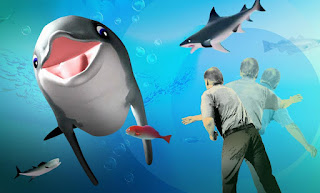 A smiling dolphin named Bandit is the star of an interactive video game that could help older adults strengthen their brains and bodies.