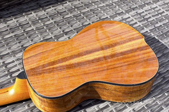World Of Ukes Pioneer T1 Tenor Ukulele back