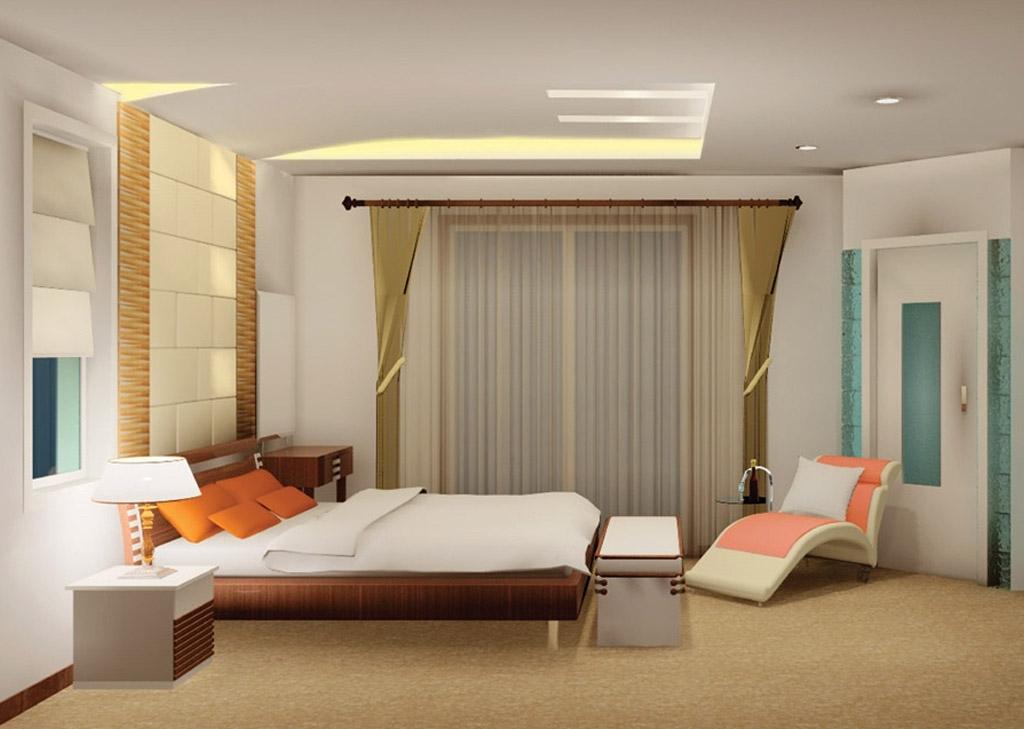 Kamar tidur minimalis modern for Dekor kamar hotel ultah