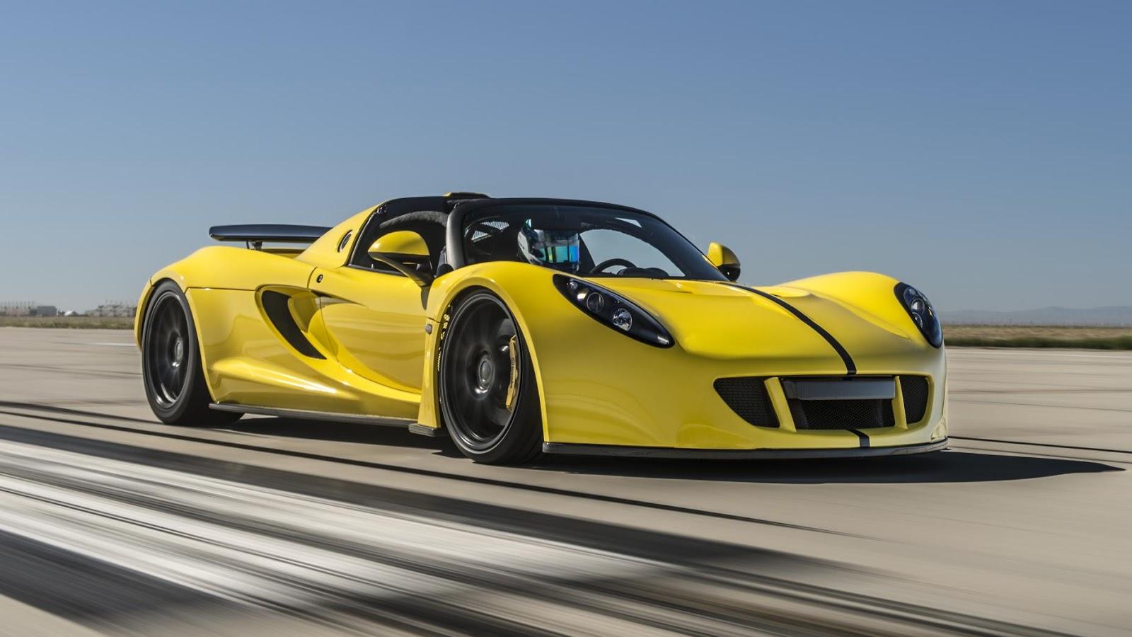 Hennessey Venom GT Spyder hiện là siêu xe nhanh nhất thế giới