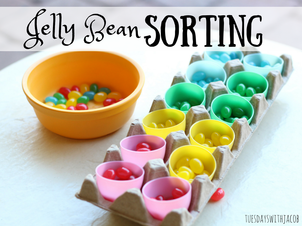 Sorting Amp Snacking Jelly Beans