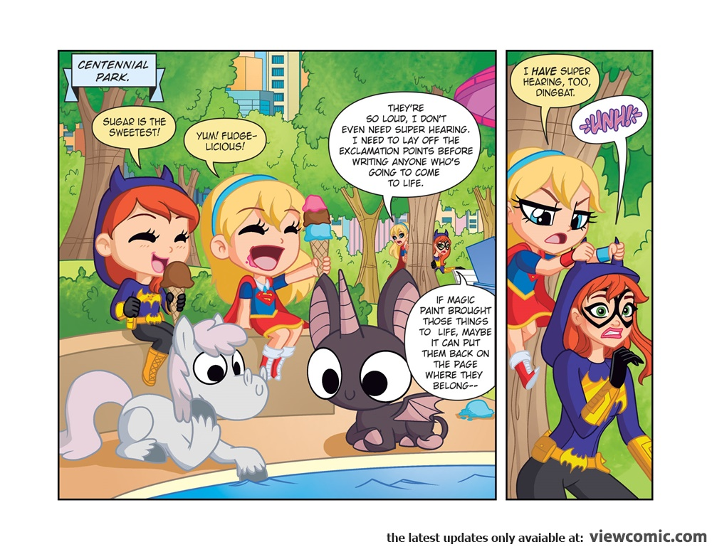 DC Super Hero Girls 007 Out of the Bottle (2017) | Viewcomic