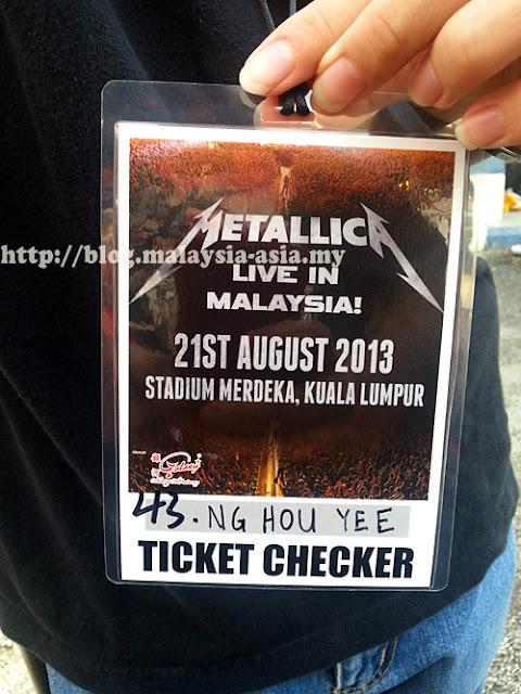 Malaysia Metallica Live 2013