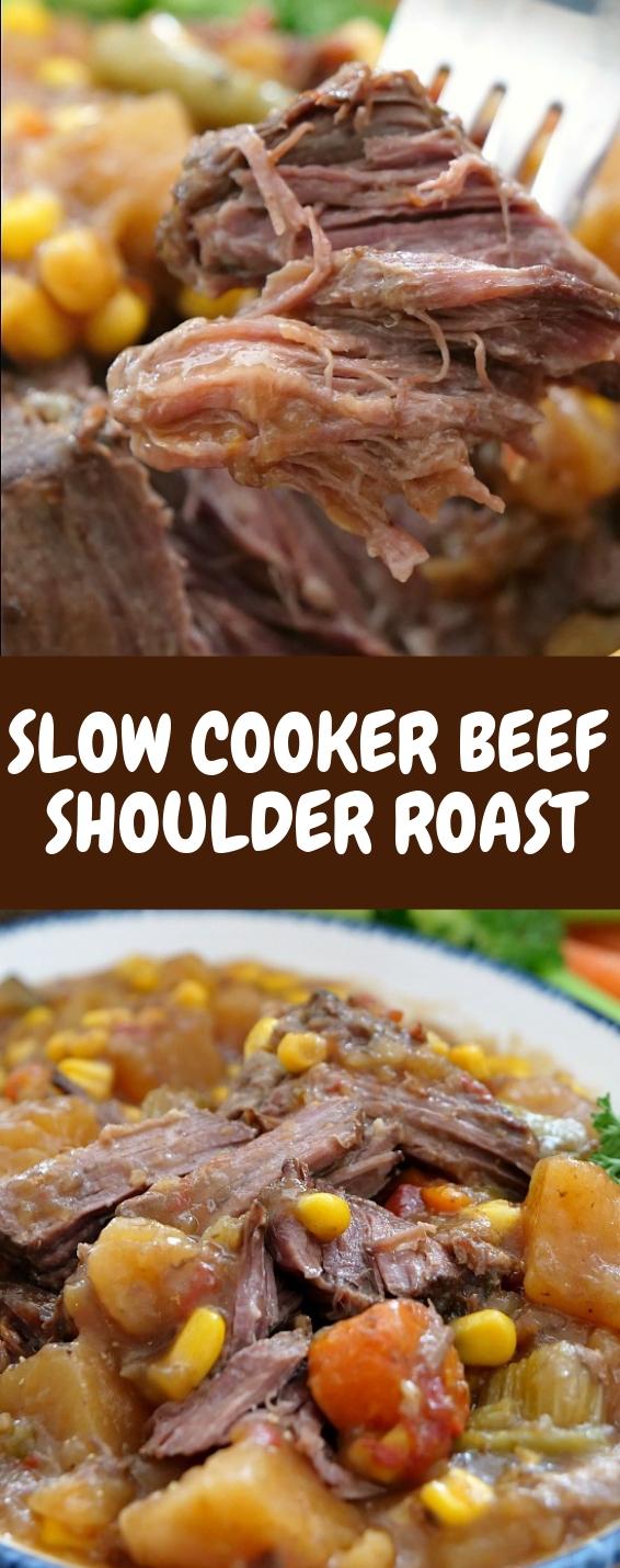 Slow Cooker Beef Shoulder Roast
