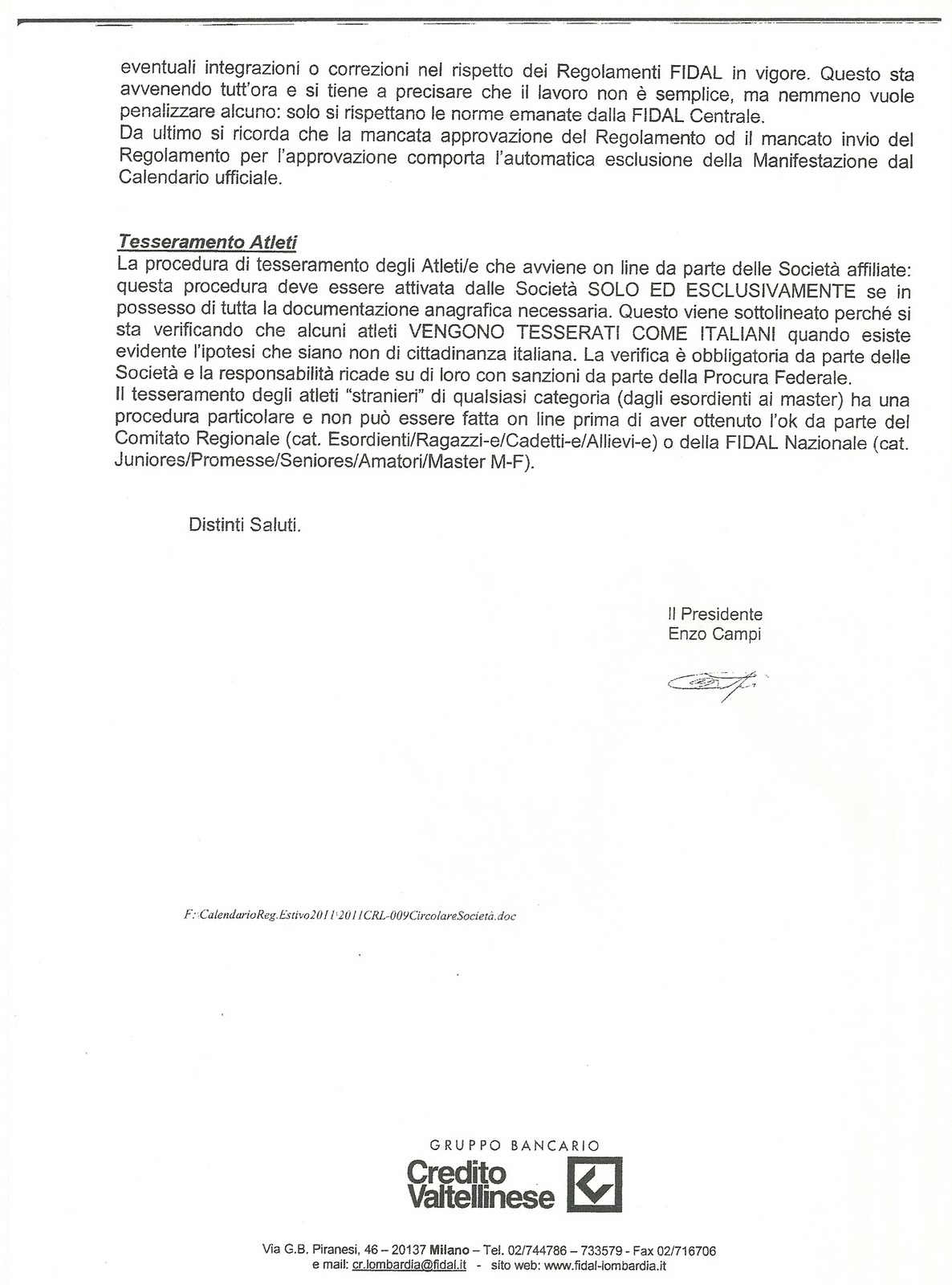 Fidal Lombardia Calendario.Running Nave Da Fidal Comitato Regionale Lombardia