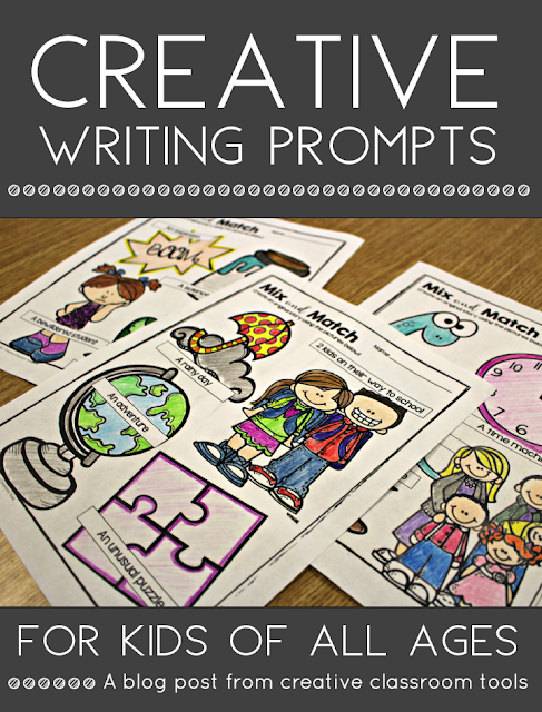Fun and engaging creative writing prompts for kids. Mix and Match Picture Prompts provide visual inspiration and scaffolding to inspire even your most reluctant writers. A free sample printable is included for you to try!