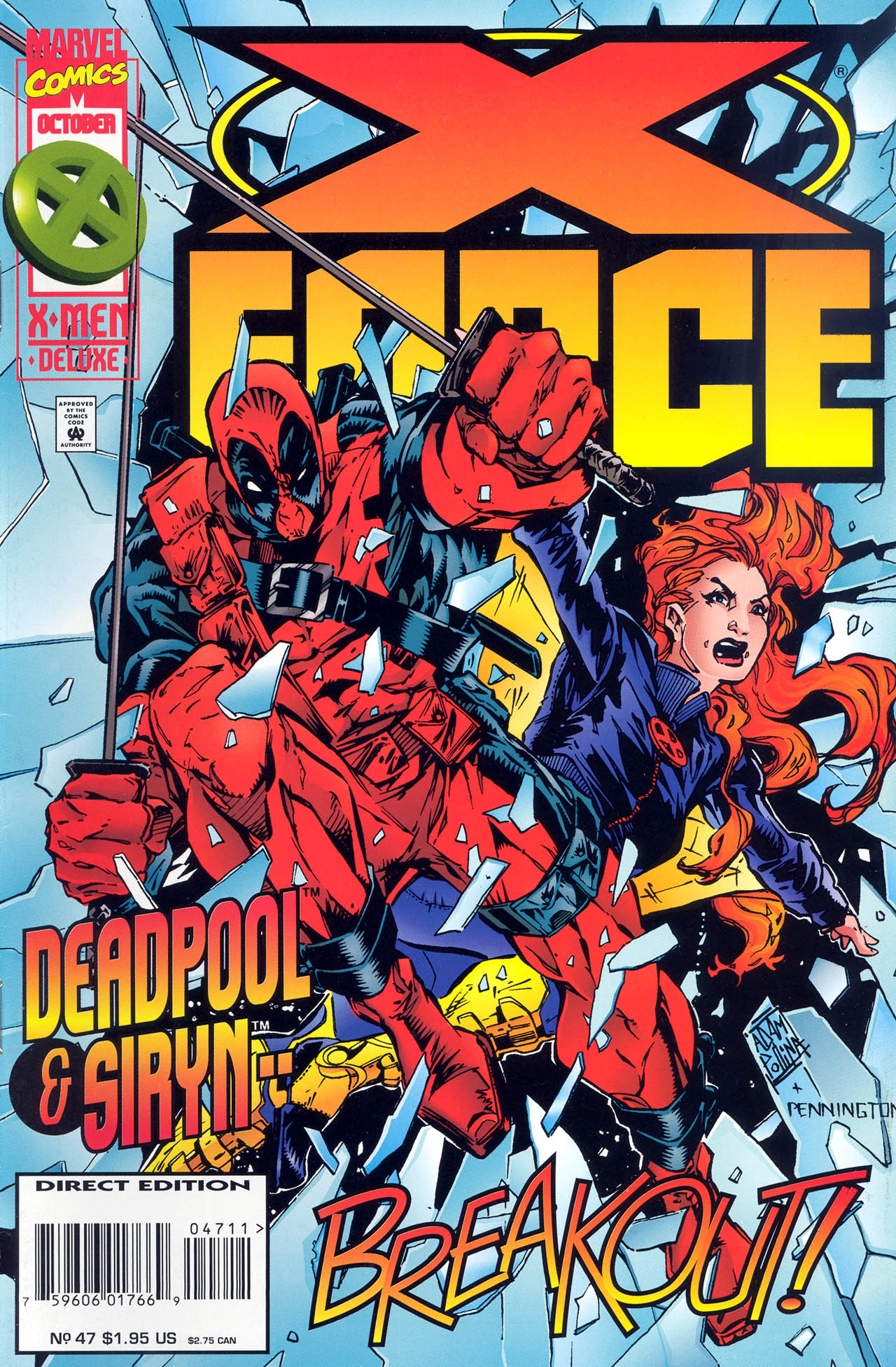 X-Force (1991) 47 Page 1