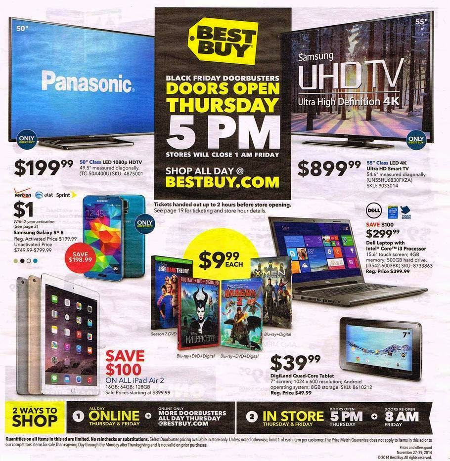 Black Friday BestBuy AD