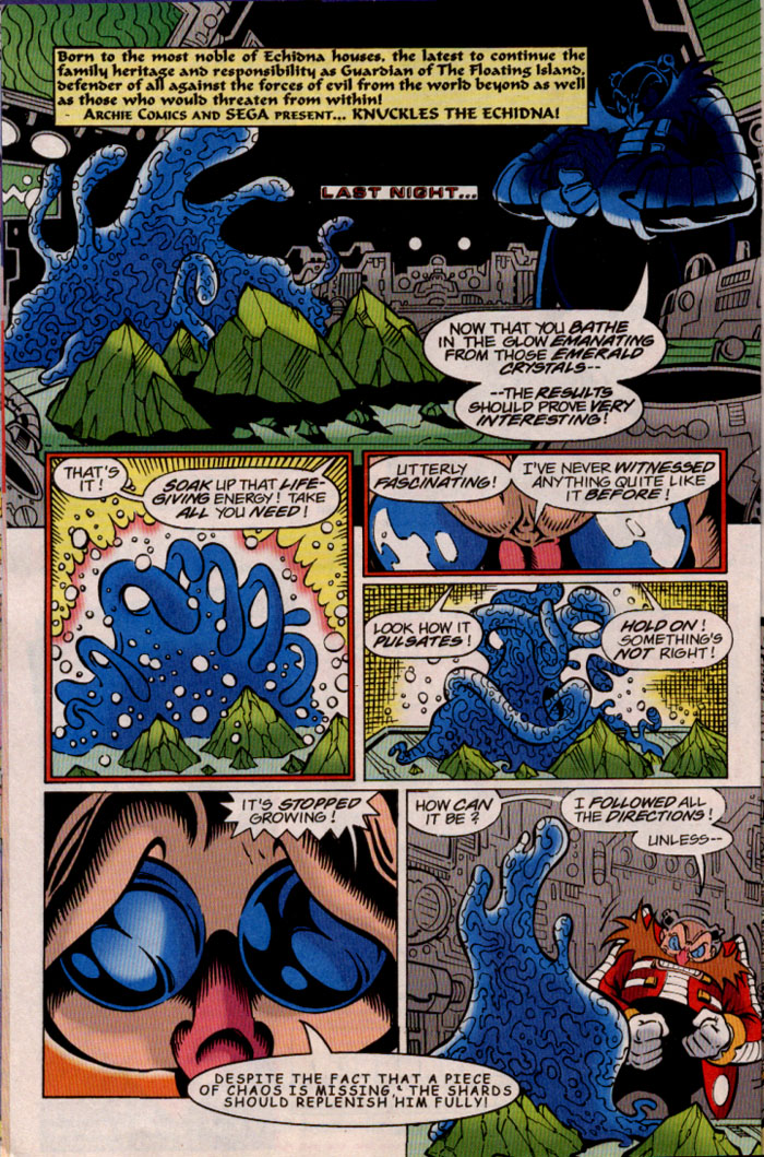Read online Sonic The Hedgehog comic -  Issue #81 - 11