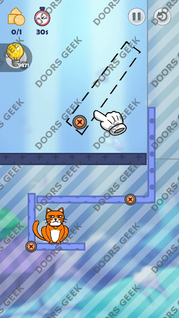 Hello Cats Level 63 Solution, Cheats, Walkthrough 3 Stars for Android and iOS