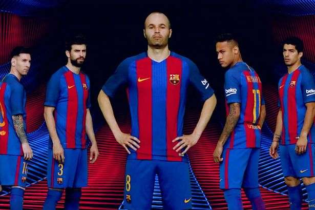 a985902dd Barcelona unveil Nike home jersey for 2016   2017 season