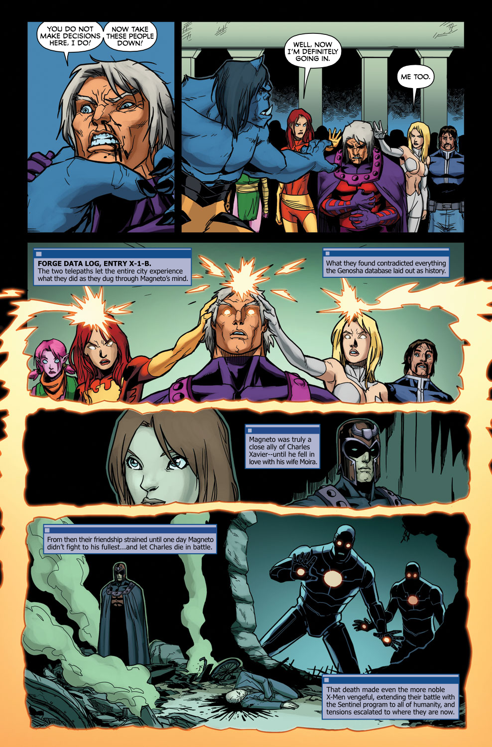 Read online Exiles (2009) comic -  Issue #3 - 16