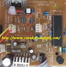 CPU Komputer mesin pom mini digital