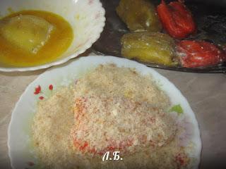 болгарский перец в кляре