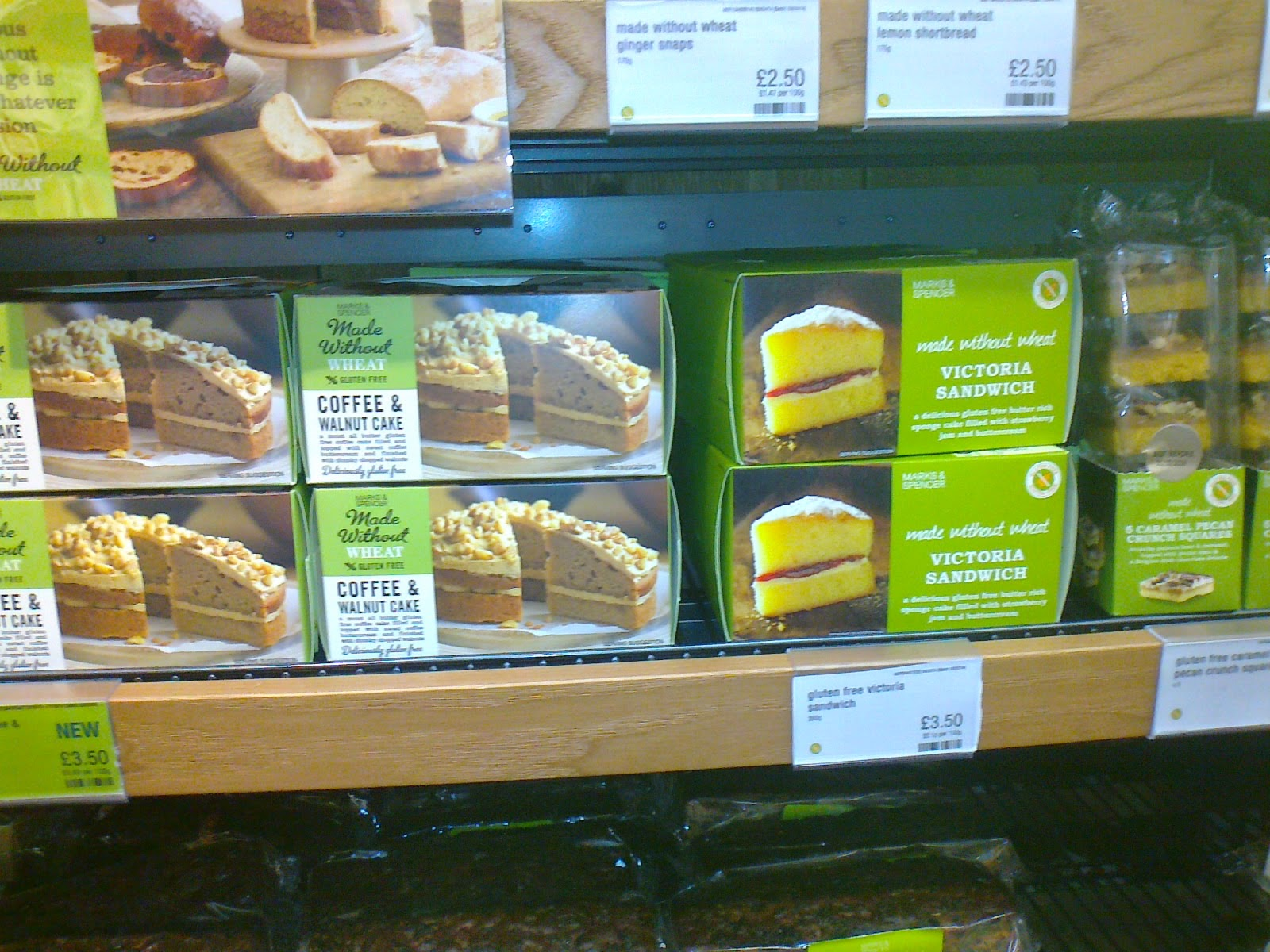 Marks And Spencer Coffee Cake