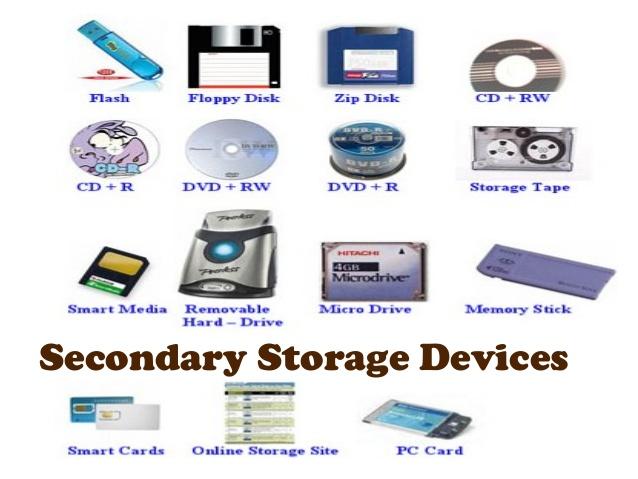 secondary storage - Selol-ink