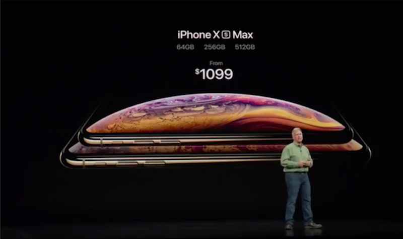 Apple iPhone Xs Max variants and pricing