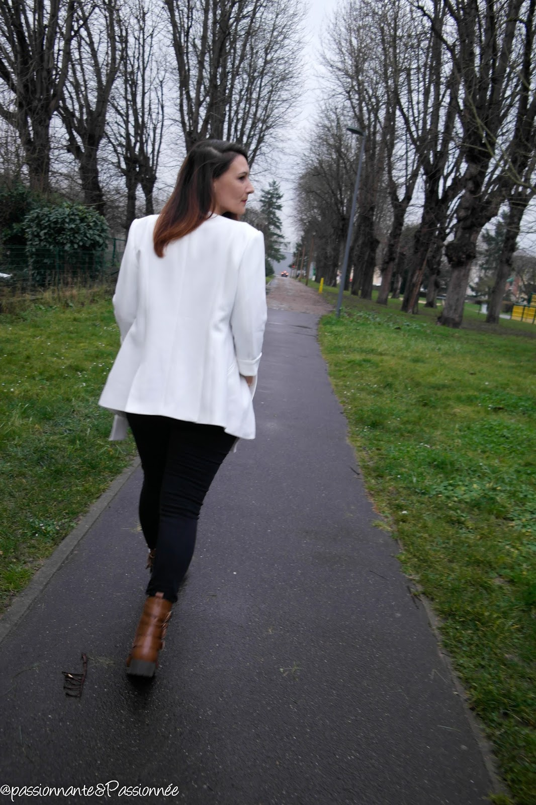 Porter le blazer blanc