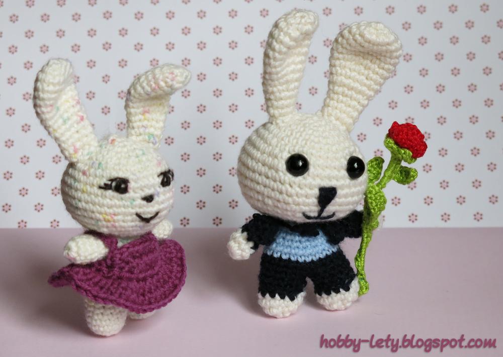 Gli hobby di lety schema free del coniglietto in italiano - Modelli di coniglietto pasquale gratis ...