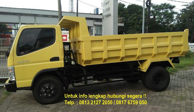 paket kredit dp kecil dump truck canter 2019