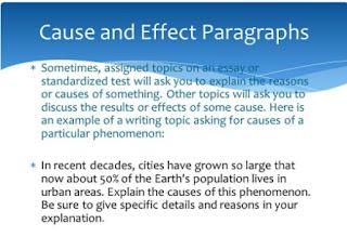 Google Image - Definisi dari Paragraf Cause and Effect Bahasa Inggris