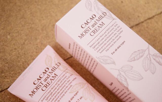 VERA SITOMPUL - BENTON Cacao Moist and Mild Cream REVIEW