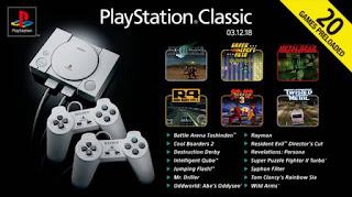 juegos incluidos sony playstation classic mini