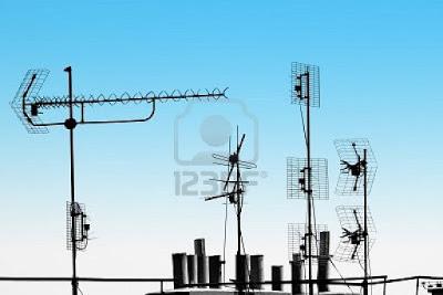 karasal yayına uygun antenler genel grup