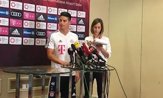 Declaraciones de James Rodríguez hacía el Bayern