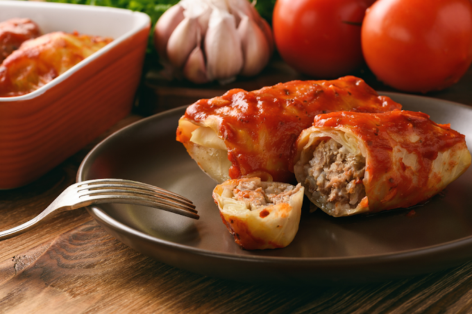 Stuffed Cabbage Leaves With Quinoa Recipe