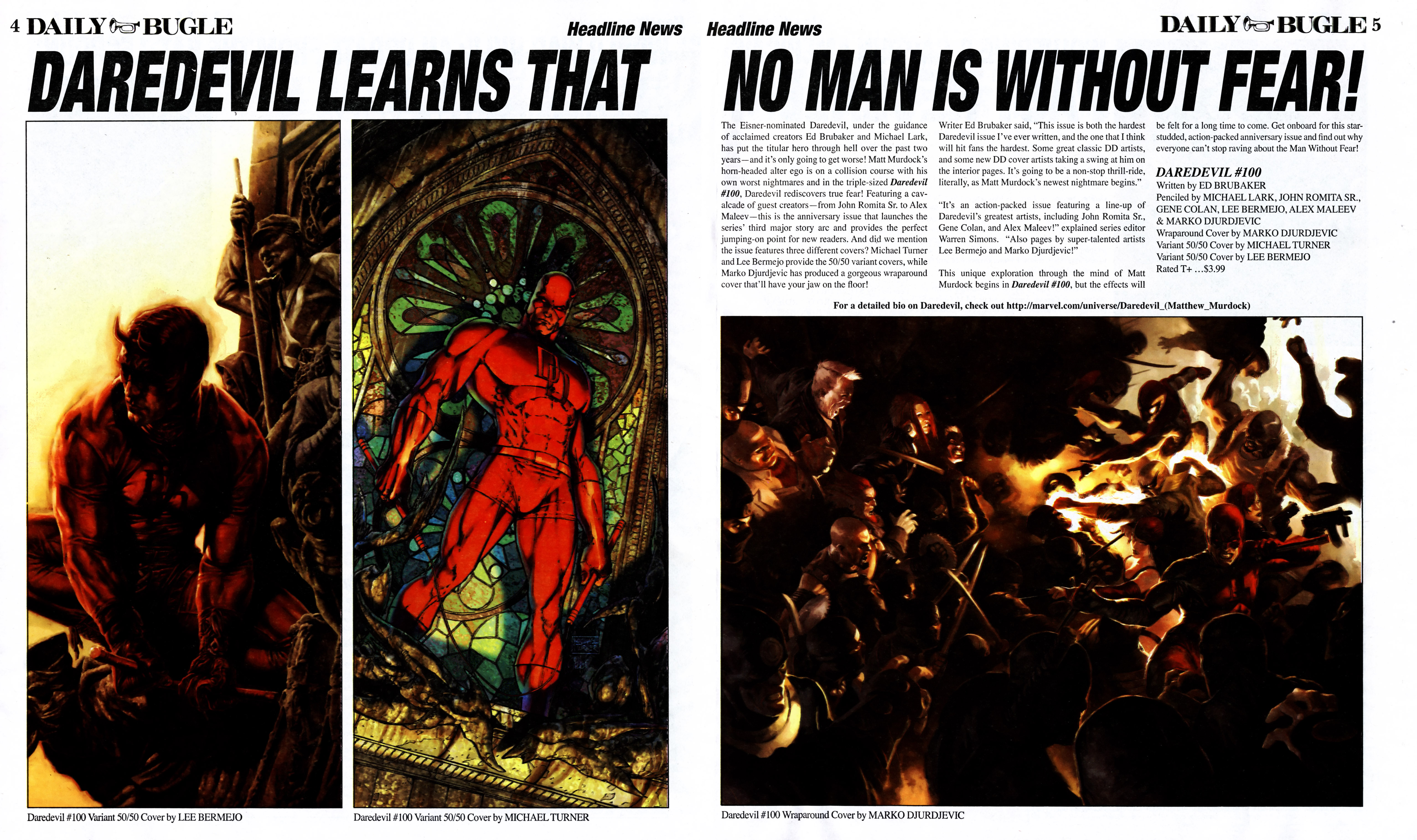 Read online Daily Bugle (2006) comic -  Issue #11 - 5