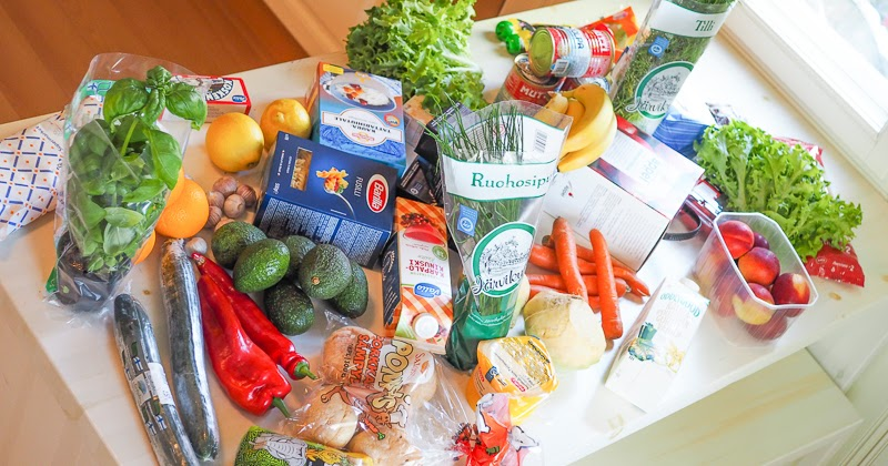Ruokaostokset Netistä