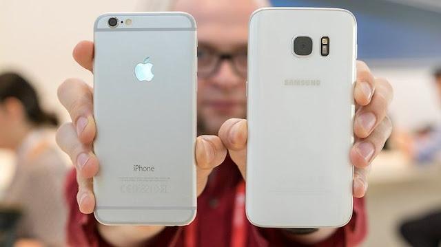 Perbandingan Samsung Galaxy S7 vs iPhone 6S