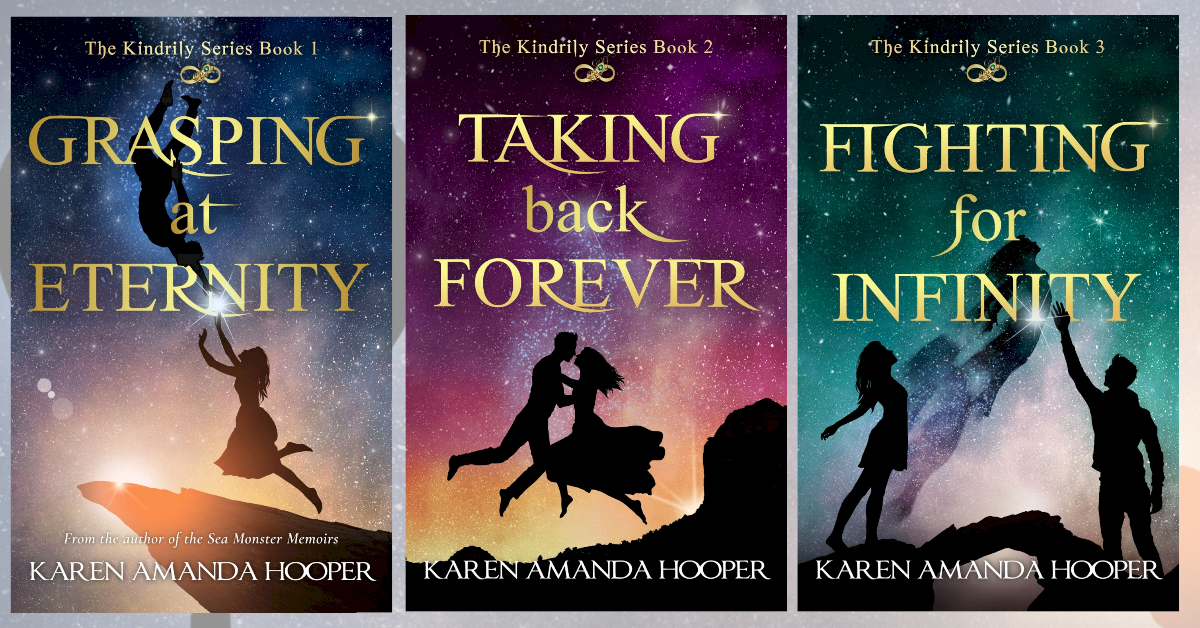 Author Karen Amanda Hooper NEW KINDRILY COVERS