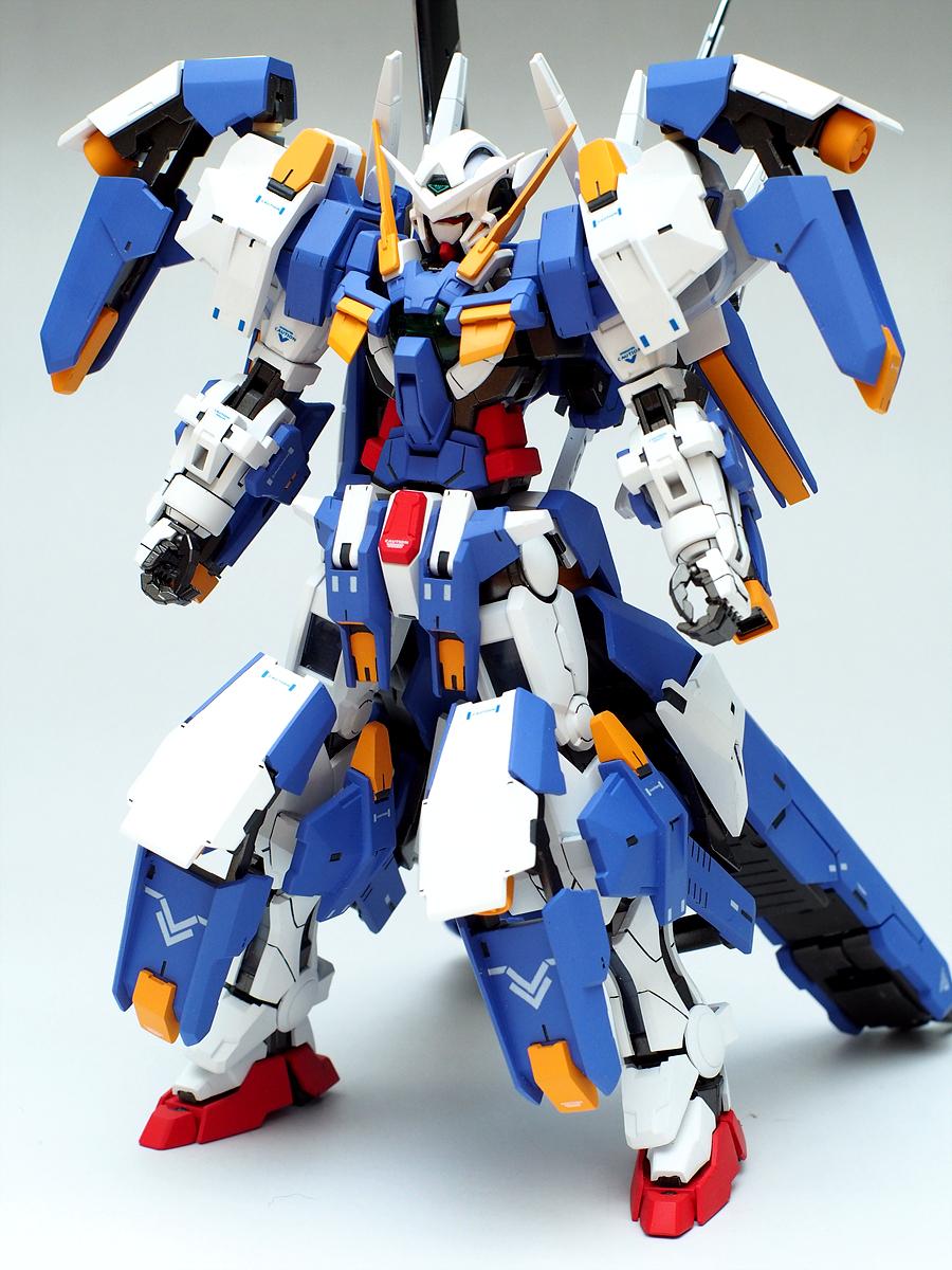 GUNDAM GUY: MG 1/100 Gundam Exia Avalanche Dash - Custom Build