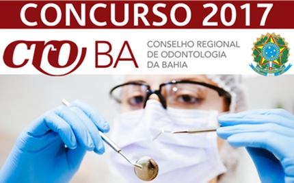 concurso CRO-BA 2017