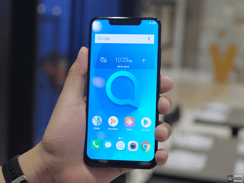 Alcatel 5V with 6.2-inch 19:9 screen and 4,000mAh battery arrives in the Philippines