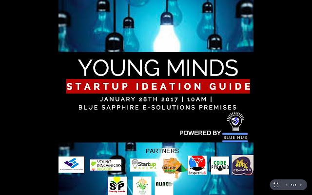 BLUE HUB TO HOST YOUNG MINDS IDEATION GUIDE IN KANO